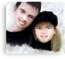 Jay and Kaylee 2 Canvas Print