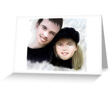Jay and Kaylee 2 Greeting Card