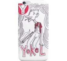Y is for Yokel iPhone Case/Skin