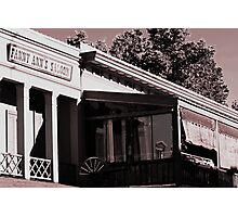 Fanny Ann's Saloon Photographic Print
