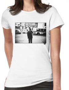 Road Cross Womens Fitted T-Shirt