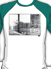photo fade building T-Shirt