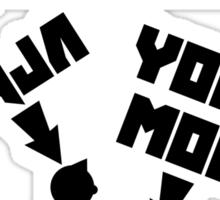 Unofficial Die Antwoord Merch (US Version) Sticker