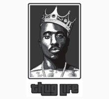 Tupac Thug Life Kids Clothes