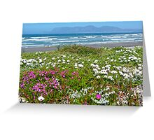 Dune Flowers Greeting Card