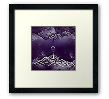 In between worlds Framed Print