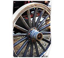 1850 Wagon Wheel Poster