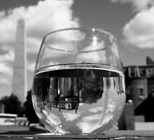 Bunker Hill Wineglass by Amy Polkowski