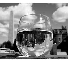Bunker Hill Wineglass Photographic Print