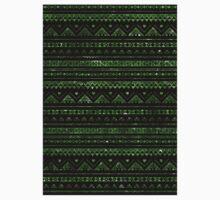 Aztec Black Tinsel Green Kids Clothes