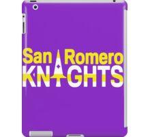 San Romero Knights iPad Case/Skin