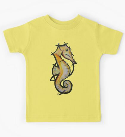 Large Seahorse Kids Tee