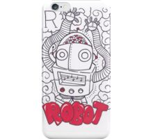R is for Robot iPhone Case/Skin