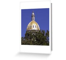 Colorado Dome of Gold Greeting Card