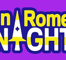 San Romero Knights With Purple Outline by Spyder1246