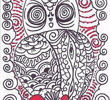 O is for Owl by Carlos Quinteros