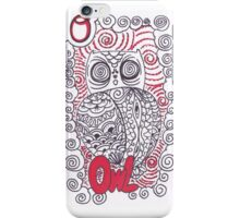O is for Owl iPhone Case/Skin