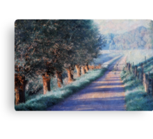 By Road of Your Dream. Monet Style Canvas Print