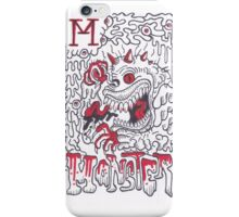 M is for Monster iPhone Case/Skin