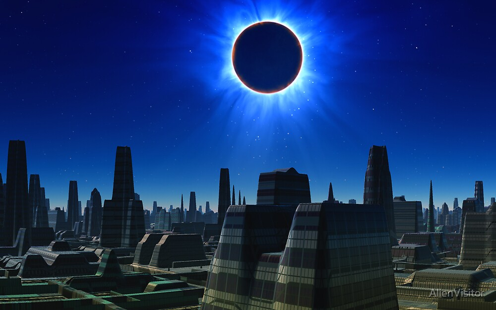 Total Eclipse by AlienVisitor