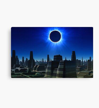 Total Eclipse Canvas Print