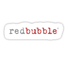 redbubble logo Sticker