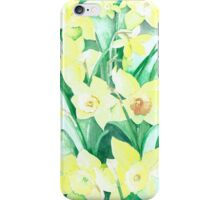 Daffodils out of the picture iPhone Case/Skin