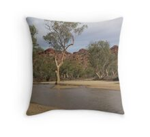 Roe Creek River Red Gum, Central Australia Throw Pillow