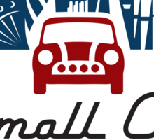 smallcarBIGCITY Logo Sticker