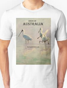 Birds of Australia - Royal Spoonbill (Platalea regia) T-Shirt