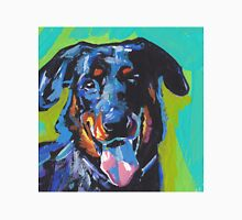 Beauceron Dog Bright colorful pop dog art Unisex T-Shirt