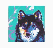 Shiba Inu Bright colorful pop dog art Unisex T-Shirt