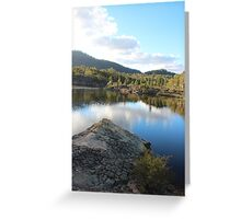 Platypus Point Dunn's Swamp NSW Greeting Card