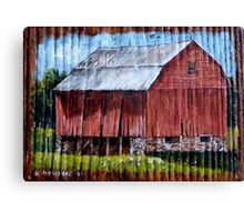 Bank Barn Canvas Print