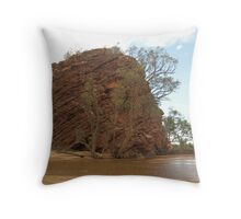Honeymoon Gap, Alice Springs, Australia. Throw Pillow