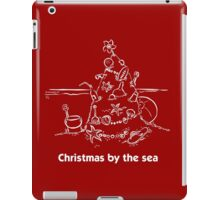 Christmas by the sea iPad Case/Skin