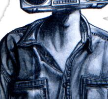Radio Head! Sticker