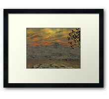 Issues - Global Warming3 Framed Print