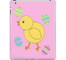 Easter Chick with Easter Eggs iPad Case/Skin