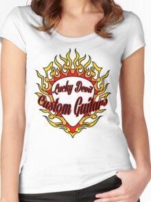 Lucky Devil Custom Guitars Women's Fitted Scoop T-Shirt