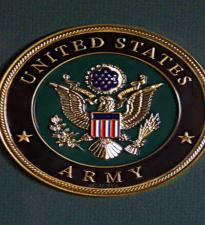 Army Dedication Sticker