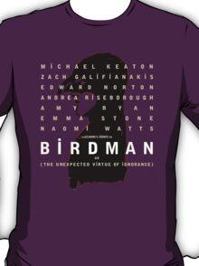Birdman poster T-Shirt