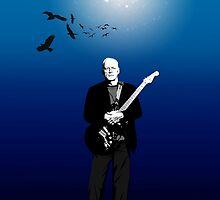David Gilmour The Blue 2015 Tour by giltour