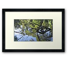 Sculptures in living water 1 Framed Print