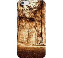 Woodland Wonderland (sepia) iPhone Case/Skin