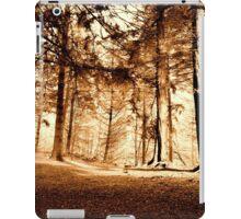 Woodland Wonderland (sepia) iPad Case/Skin