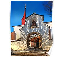 The cemetary church of Schlägl IV | architectural photography Poster