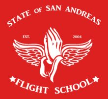 San Andreas Flight School T-Shirt