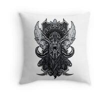 Viking Death Throw Pillow