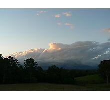 Evening Thunderhead - Lansdowne Photographic Print